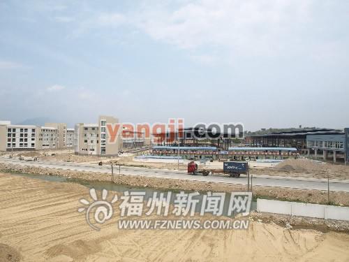 福州/海峡农副产品批发物流中心位于闽侯南通镇,一期规划用地1931亩